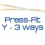 "PRESS-FIT ""Y"" 3 Vie"